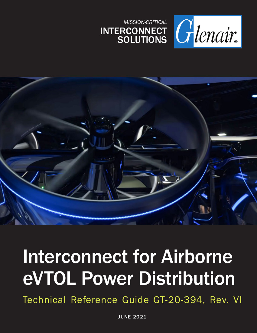 Interconnect for Airborne eVTOL Power Distribution