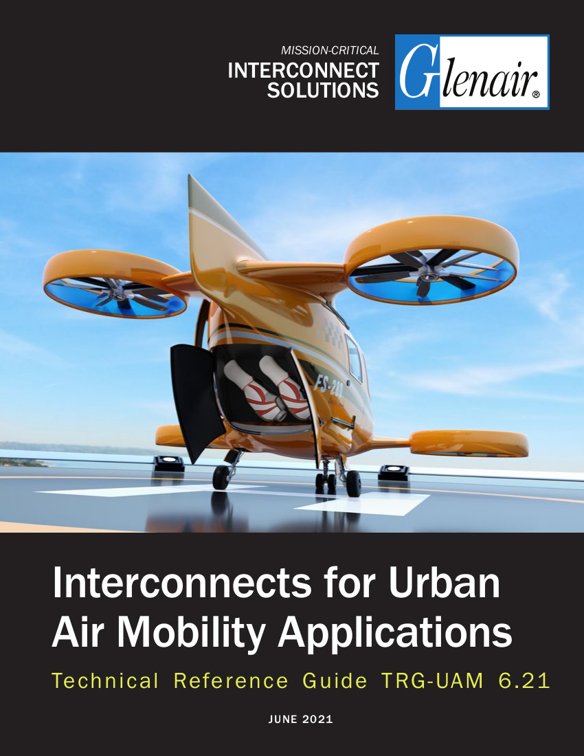 Interconnects for Urban Air Mobility Applications