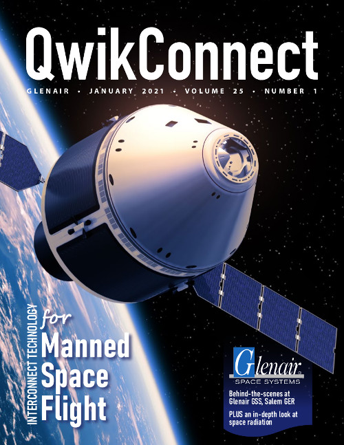 QwikConnect January 2021: Interconnect Technology for Manned Space Flight