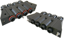 High-Current, High-Voltage Power Connectors for Railway Applications